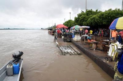 Río Magdalena está a 4 centímetros de desbordarse en Barrancabermeja