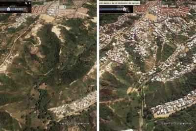 Infografía: Así han poblado las zonas de alto riesgo en Bucaramanga