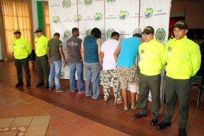 Policía detuvo a cinco personas sindicadas de tres homicidios
