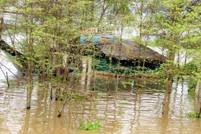 Río Magdalena ya inundó nueve veredas de Barrancabermeja