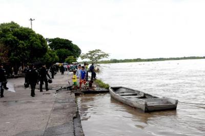 Hoy se avecina creciente del río Magdalena en Barrancabermeja