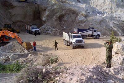 Ejército dio duro golpe contra explotación ilícita en minas de Sur de Bolívar