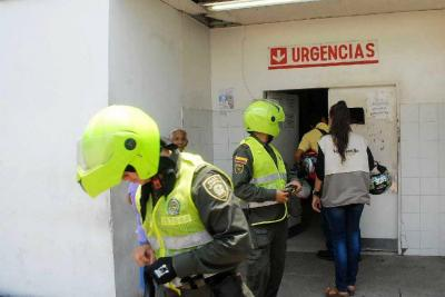 Dos policías heridos en Santander en presunto 'plan pistola'
