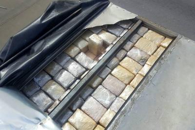 Policía incautó 350 kilos de marihuana en la vía a San Gil