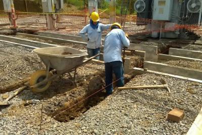 Hoy no hay energía por  trabajos en la subestación