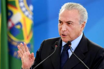Terremoto político en Brasil: Michael Temer habría negociado sobornos