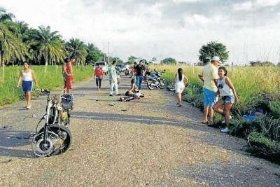En inmediaciones del corregimiento El Llanito tuvo lugar el accidente de tránsito en el que murieron tres personas el domingo anterior.