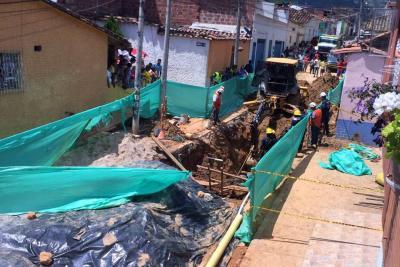 Murió un obrero tras desplome en una obra en Piedecuesta