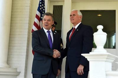 Vicepresidente de Estados Unidos, Mike Pence, visitará Colombia en agosto