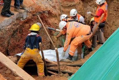 Obrero murió tras un derrumbe en Piedecuesta