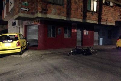 Motociclista murió tras chocar contra un taxi en Bucaramanga