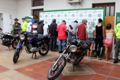 Desmantelan banda dedicada al microtáfico en Floridablanca