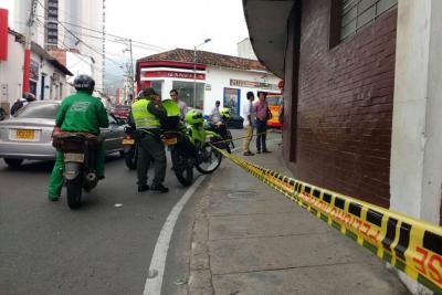 Hombre resultó herido tras hurto de $10 millones en Bucaramanga