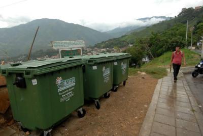 Instalarán 50 contenedores de basura en puntos críticos de Bucaramanga