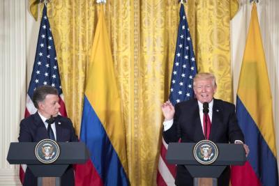 Donald Trump planea reducir 35% el presupuesto para Colombia en 2018