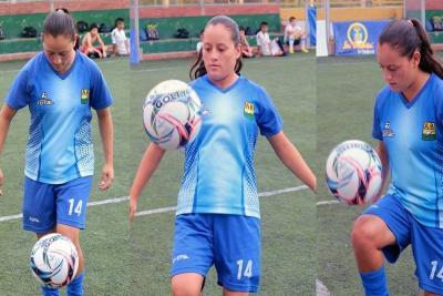 La veleña que quiere triunfar en el Atlético Bucaramanga y Europa