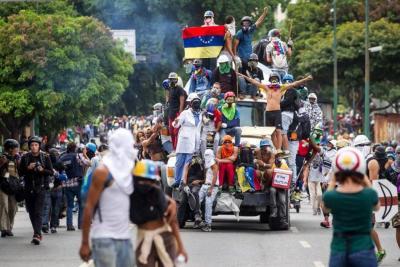 Oposición venezolana vuelve a las calles para marchar en contra de la Constituyente