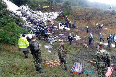 El avión que se estrelló con los jugadores de Chapecoense no tenía seguro