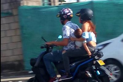 Continúan las denuncias contra motociclistas en Floridablanca