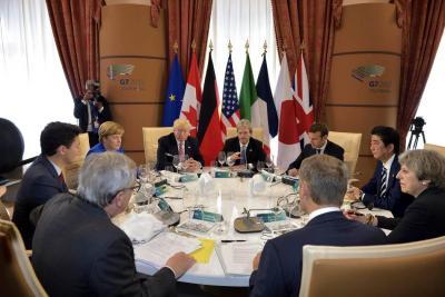 Sin acuerdo sobre cambio climático en cumbre del G7 por Estados Unidos