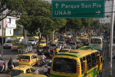 Insatisfacción del 63 % por el manejo dado al tránsito de Bucaramanga