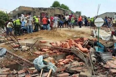 Ordenan proteger a los sobrevivientes del edificio que se desplomó en Cartagena