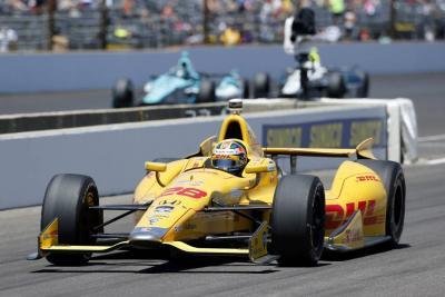 Con 4 colombianos en pista, avanzan 500 Millas de Indianápolis