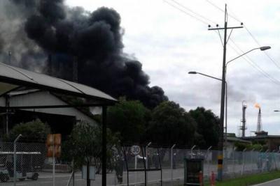 Evalúan causas de emergencia en refinería de Barrancabermeja