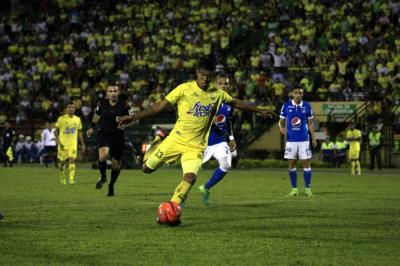 Al Atlético Bucaramanga se le escapó el triunfo ante Millonarios en el último minuto