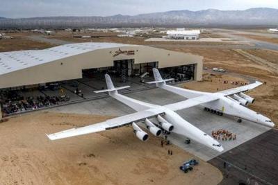 El avión más grande del mundo arrancó pruebas