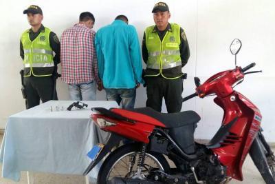 Caen presuntos fleteros cuando robaban $5 millones en Bucaramanga