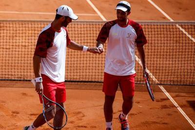 Colombianos Juan Sebastián Cabal y Robert Farah eliminados del Roland Garros