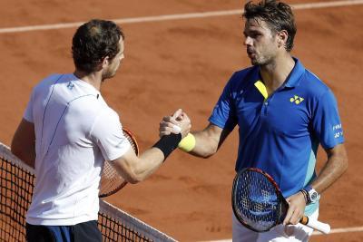 Wawrinka remontó a Murray y jugará su segunda final en Roland Garros