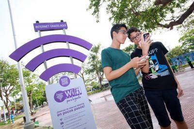 Bucaramanga tendrá 54 zonas WiFi en 2018