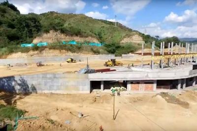 Portal de Girón de Metrolínea va en 35% de avance