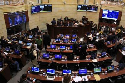 Aplazan discusión sobre la reforma que crea las circunscripciones de paz