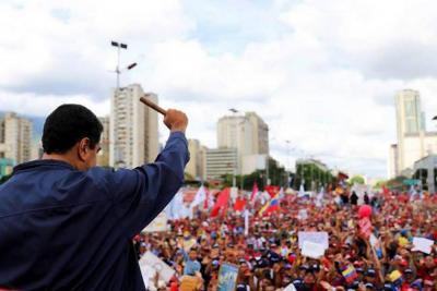 Manifestaciones en Venezuela se concentran en la Asamblea Constituyente