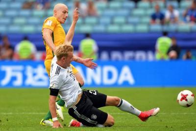 Alemania derrotó 3-2 a Australia en la Copa Confederaciones