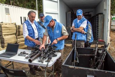 """""""Dejación de armas será total"""": jefe de Misión de la ONU"""