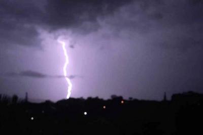 Así registraron ciudadanos tormenta en Bucaramanga y el área