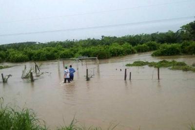 Reportan inundaciones en zona rural de Puerto Wilches