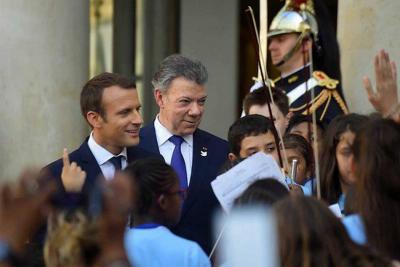 Francia y Colombia reafirman su esfuerzo contra el terrorismo