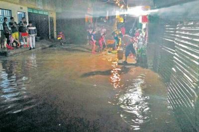Emergencia en Lebrija por inundaciones tras aguacero