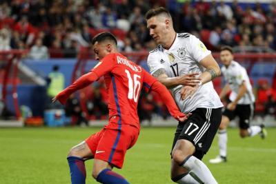 Alemania y Chile empataron y aplazaron clasificación a semifinales