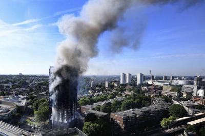 Una nevera defectuosa causó el grave incendio del edificio en Londres