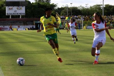 Santa Fe y Huila definen el primer campeón de la Liga Águila Femenina