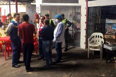 Sellan preventivamente plaza de mercado de La Rosita en Bucaramanga