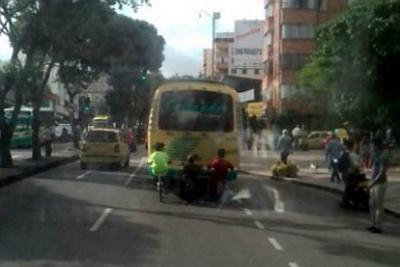 Conductores denuncian maniobras peligrosas de jóvenes en Bucaramanga