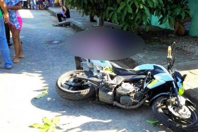 Mueren dos jóvenes en accidente de tránsito en Santander