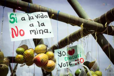 Consulta contra la minería en San Vicente, Santander, está en revisión de firmas